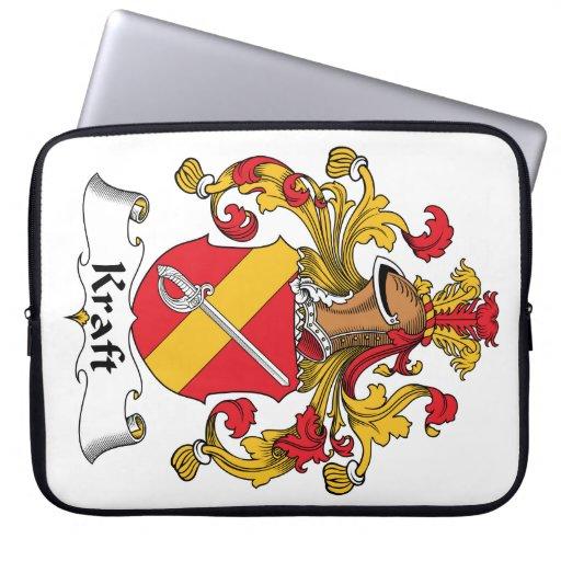 Escudo de la familia de Kraft Fundas Ordendadores