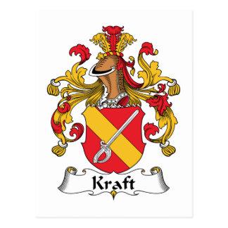 Escudo de la familia de Kraft Postal