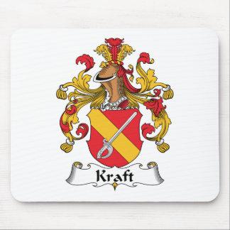Escudo de la familia de Kraft Tapete De Ratón