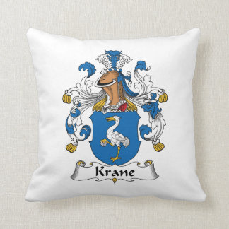 Escudo de la familia de Krane Cojines