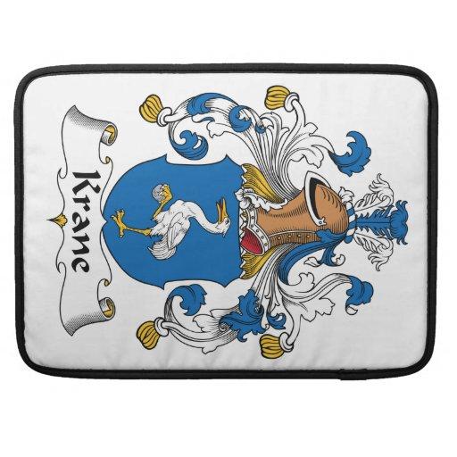 Escudo de la familia de Krane Fundas Macbook Pro