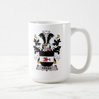 Escudo de la familia de Krebs Taza De Café