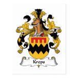 Escudo de la familia de Kreps Postales