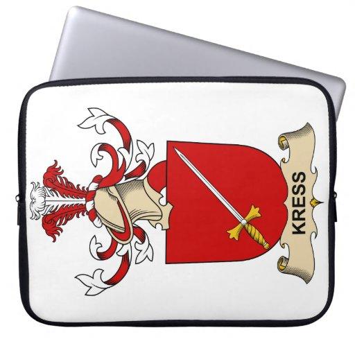Escudo de la familia de Kress Funda Ordendadores