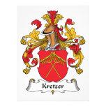 Escudo de la familia de Kretzer Comunicados Personales