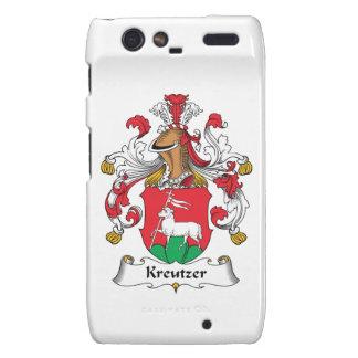 Escudo de la familia de Kreutzer Motorola Droid RAZR Funda