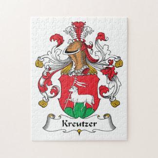 Escudo de la familia de Kreutzer Puzzle Con Fotos