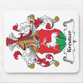 Escudo de la familia de Kreutzer Alfombrilla De Raton