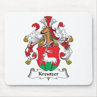 Escudo de la familia de Kreutzer Tapete De Ratones