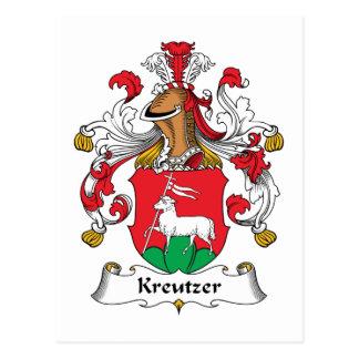 Escudo de la familia de Kreutzer Postales