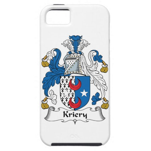 Escudo de la familia de Kriery iPhone 5 Case-Mate Cobertura