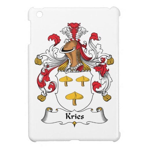 Escudo de la familia de Kries iPad Mini Funda
