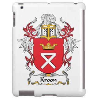 Escudo de la familia de Kroon Funda Para iPad