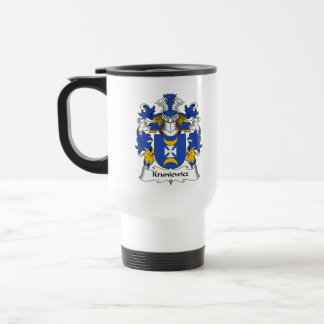 Escudo de la familia de Kruniewicz Tazas De Café