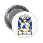 Escudo de la familia de Kruse Pin