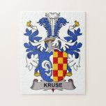 Escudo de la familia de Kruse Puzzles Con Fotos