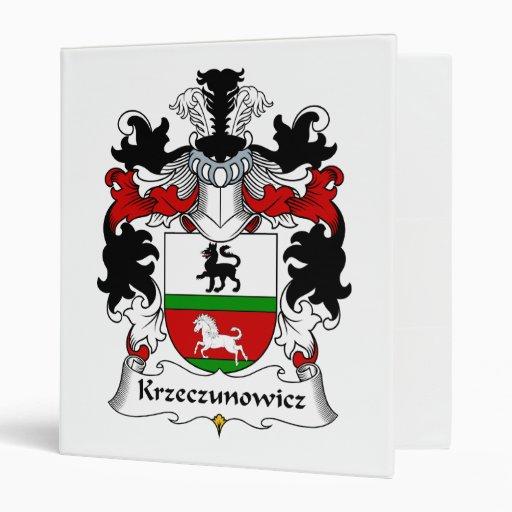 """Escudo de la familia de Krzeczunowicz Carpeta 1"""""""