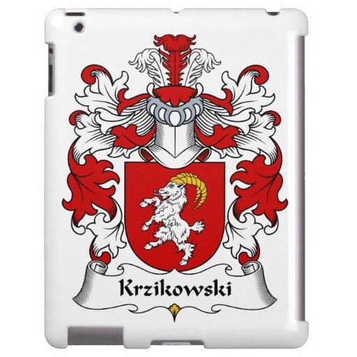 Escudo de la familia de Krzikowski Funda Para iPad