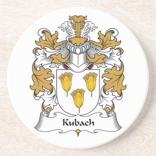 Escudo de la familia de Kubach Posavasos Diseño