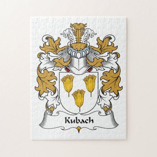 Escudo de la familia de Kubach Rompecabeza