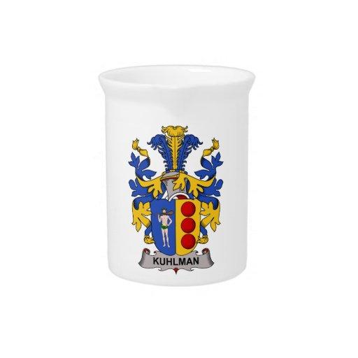 Escudo de la familia de Kuhlman Jarras De Beber