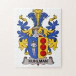 Escudo de la familia de Kuhlman Puzzle Con Fotos