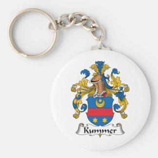 Escudo de la familia de Kummer Llavero Redondo Tipo Pin