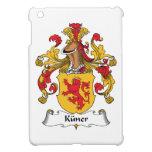 Escudo de la familia de Kuner iPad Mini Fundas