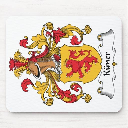 Escudo de la familia de Kuner Mousepad