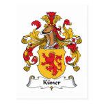 Escudo de la familia de Kuner Postal