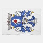 Escudo de la familia de Kuntze Toalla De Cocina