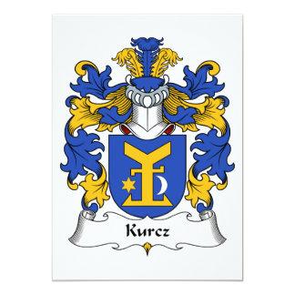 """Escudo de la familia de Kurcz Invitación 5"""" X 7"""""""