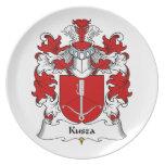 Escudo de la familia de Kusza Platos