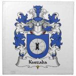 Escudo de la familia de Kuszaba Servilleta Imprimida