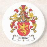 Escudo de la familia de Kuttner Posavasos Manualidades