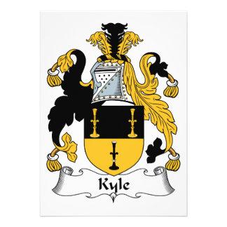 Escudo de la familia de Kyle Anuncio Personalizado