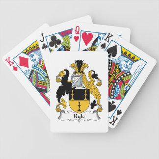 Escudo de la familia de Kyle Baraja Cartas De Poker