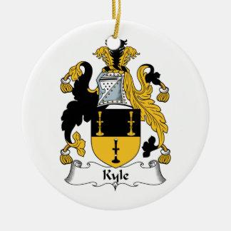 Escudo de la familia de Kyle Ornamente De Reyes