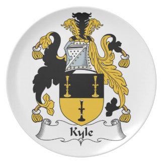 Escudo de la familia de Kyle Plato Para Fiesta