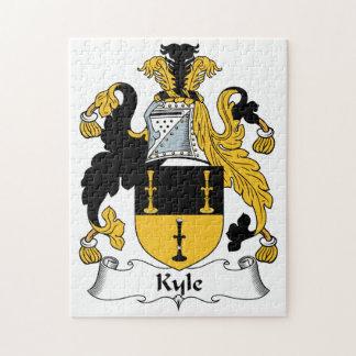 Escudo de la familia de Kyle Puzzles Con Fotos