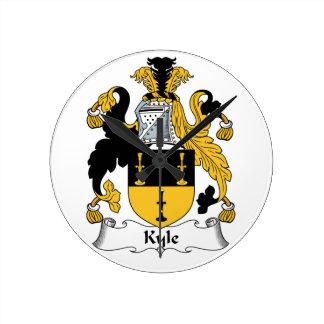 Escudo de la familia de Kyle Reloj