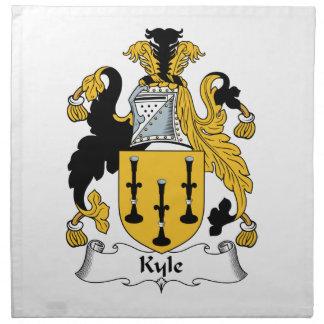 Escudo de la familia de Kyle Servilletas
