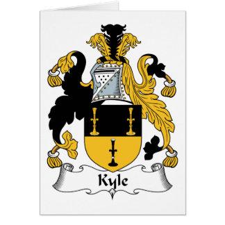 Escudo de la familia de Kyle Tarjetas