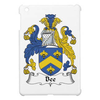 Escudo de la familia de la abeja iPad mini protector