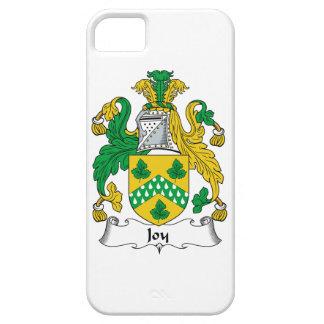 Escudo de la familia de la alegría iPhone 5 coberturas