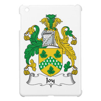 Escudo de la familia de la alegría iPad mini cárcasas