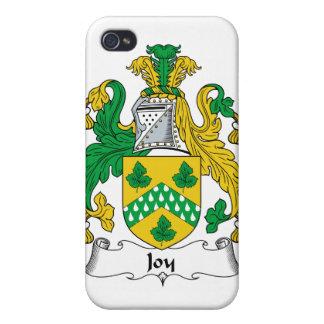 Escudo de la familia de la alegría iPhone 4 coberturas