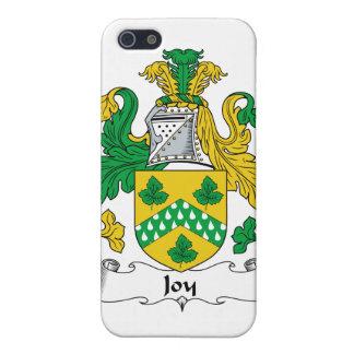 Escudo de la familia de la alegría iPhone 5 protector