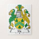 Escudo de la familia de la alegría puzzles