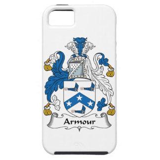 Escudo de la familia de la armadura iPhone 5 fundas